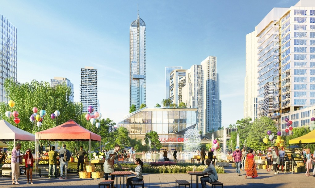 Massive 37 tower, 18,000 unit development planned for area around Square One